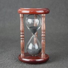 【12/20出荷】 砂時計 5分 砂鉄 金子硝子工芸 正確 日本製