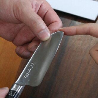 传统的锻造的刀 aimagawa 史密斯和 8 儿童刀钢