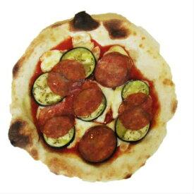 イタリアンサラミ と 茄子の ピッツァ ナポリピッツァ 石窯で焼きあげる香り豊なピッツァ ご注文合計金額1万円以上で 送料無料 冷凍ピザ ホームパーティに