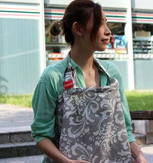 【青森〜九州送料無料】ESMERALDA(エスメラルダ)授乳用カバーシャトーシルバー【RCP】