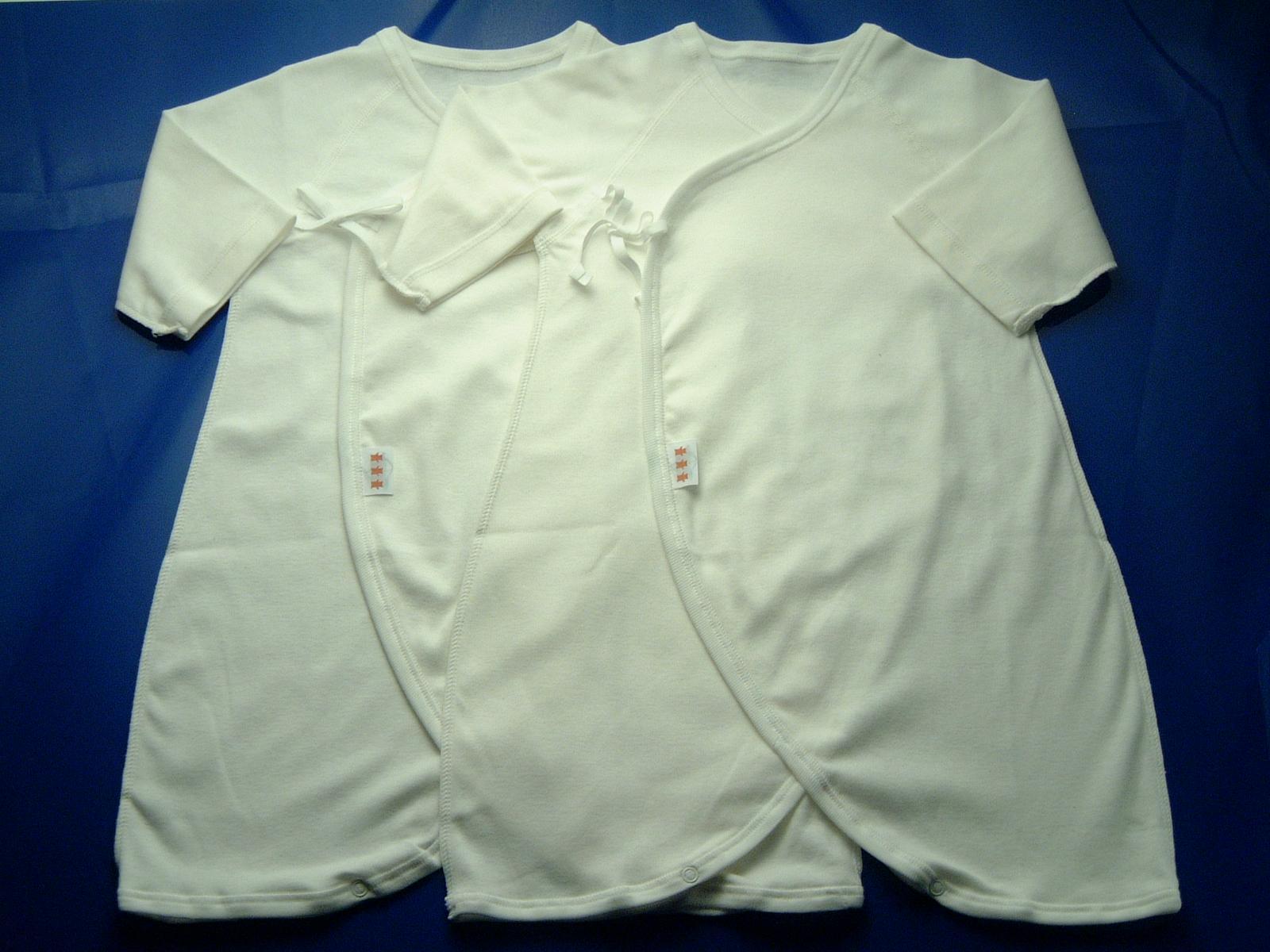 ナカムラ赤ちゃん店オリジナルコンビ型肌着2枚組 60cm【Y】