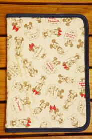【メール便利用!送料無料】クーザDisneyミッキーマウス&ミニーマウス片面ジャバラマルチケース(母子手帳ケース)DKJB-2301K
