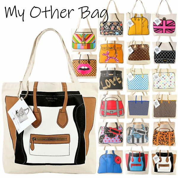 【最大10%オフクーポン】 【正規品】My Other Bag マイアザーバッグ トートバッグ マイアザーバッグ ECOBAG my other bag キャンバス ショルダー マイアザーバッグ キャンバス生地 エコ トートバッグ