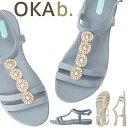 オカビー OKA b. マッケンナ Tストラップ McKenna Sandal サンダル トングサンダル 靴 ビーチサンダル 歩きやすい 疲…
