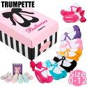 バレリーナ ベビーソックス [ 6足セット ] [ 0-12M (生後0〜12ヶ月前後) ] トランペット 靴下 ソックス Baby Socks 出産祝い くつ下 女の子 Ballerina Trumpette