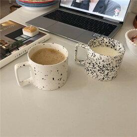 韓国インテリア カフェ コップ カップ ソーサー マグカップグラス コーヒー 紅茶 カフェ風 韓国女子 SNS映え ナチュラル かわいい おしゃれ お部屋作り インテリア 雑貨 インク