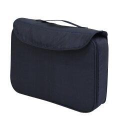 ヤトミ持ち運びできる肩ベルト付きお食事クッションBS-1120-NVブースターシート