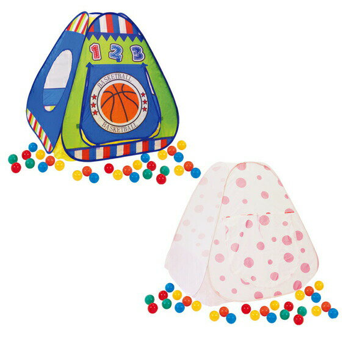【B品】ヤトミ ハピネス ボールハウス ボール50個入り 【happiness】ボールハウス ボールテント 子供用テント 収納バッグ付き【あす楽対応】【ボールハウス☆】