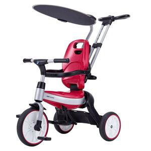 BMW 三輪車 ピンク サンシェード 1歳 2歳 3歳 4歳 子供用 折りたたみ カジキリ機能 ブレーキ ワールド 野中製作所