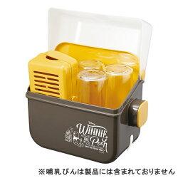 コンビ除菌じょ〜ずαくまのプーさん【13823】哺乳びん消毒容器,哺乳瓶ケース