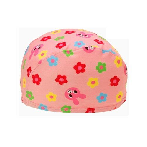 【ゆうパケット選択可】ミキハウス スイミングキャップ 46〜52cm【72-9111-959】ピンクうさぎ