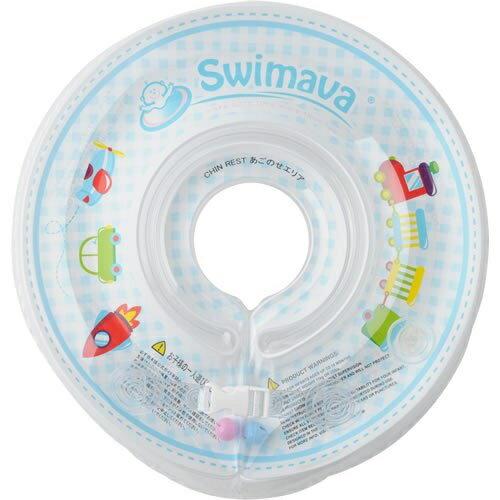 スイマーバ うきわ首リング【SW120BLT】ブルートレイン Swimava