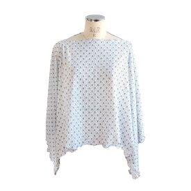 ソレイアードSOULEIADO マルチケープ(巾着つき)UVカット 授乳ケープ【4503】ホワイト フィセル