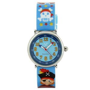 【ベビーウォッチ/babywatch】海賊子ども用プリント柄ベルト腕時計「コフレ」/COFFRETmatelot【babywatchベビーウォッチ子供用子ども用キッズウォッチ時計腕時計ギフトパリ】【楽ギフ_包装】