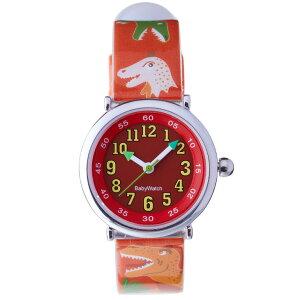【ベビーウォッチ/babywatch】恐竜子ども用プリント柄ベルト腕時計「コフレ」/COFFRETdinosaure【babywatchベビーウォッチ子供用子ども用キッズウォッチ時計腕時計ギフトパリ】【楽ギフ_包装】