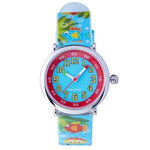【ベビーウォッチ/babywatch】水辺の生物子ども用プリント柄ベルト腕時計「コフレ」/COFFRETaquatique【babywatchベビーウォッチ子供用子ども用キッズ時計腕時計ギフトパリ】【楽ギフ_包装】