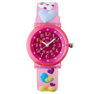 【ベビーウォッチ/babywatch】ラブ子ども用3Dレリーフベルト腕時計「ザップ」/ZAPlove【babywatchベイビーウォッチ子供用子ども用キッズウォッチ時計ギフトパリ】【楽ギフ_包装】