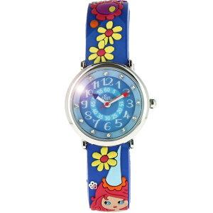 【ベビーウォッチ/babywatch】妖精子ども用3Dレリーフベルト腕時計「ザップ」/ZAPfee【babywatchベビーウォッチ子供用子ども用キッズウォッチ時計腕時計ギフトパリ】【楽ギフ_包装】