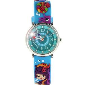【ベビーウォッチ/babywatch】人魚子ども用3Dレリーフベルト腕時計「ザップ」/ZAPsirene【babywatchベビーウォッチ子供用子ども用キッズウォッチ時計腕時計ギフトパリ】【楽ギフ_包装】