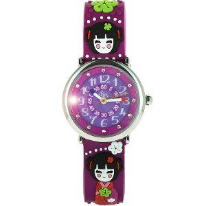 【ベビーウォッチ/babywatch】京都子ども用3Dレリーフベルト腕時計「ザップ」/ZAPkyoto【babywatchベビーウォッチ子供用子ども用キッズウォッチ時計腕時計ギフトパリ】【楽ギフ_包装】