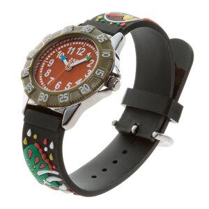 【ベビーウォッチ/babywatch】先史時代子ども用3Dレリーフベルト腕時計「ザップ」/ZAPprehistric【babywatchベイビーウォッチ子供用子ども用キッズウォッチ時計ギフトパリ】【楽ギフ_包装】
