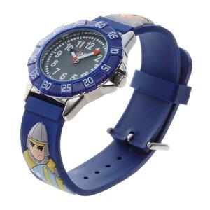 【ベビーウォッチ/babywatch】騎士子ども用3Dレリーフベルト腕時計「ザップ」/ZAPtournol【babywatchベイビーウォッチ子供用子ども用キッズウォッチ時計ギフトパリ】【楽ギフ_包装】