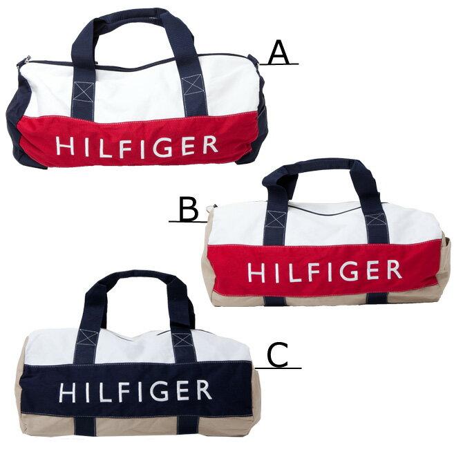 【TOMMY HILFIGER トミーフィルフィガー】ビッグ ボストンバッグ HF 刺繍 トミーヒルフィガー 【あす楽対応】【sm15-17】
