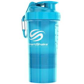 プロテインシェイカー スマートシェイク ORIGINAL2GO 600ml ダマになりにくく飲みやすい! シェーカーボトル プロテインシェーカー SmartShake オリジナルシリーズ NEONブルー