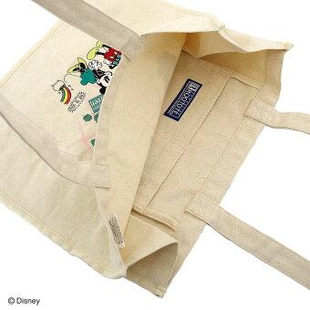 トートバッグROOTOTELT.グランデキャンバスディズニー2019新作大人のミッキーグッズ!ミッキーマウスイラスト刺繍レディーストートルートートGRANDEDisney-C4446パリ