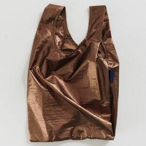 【お1人様1点限り】エコバッグ バグゥ BABY BAGGU メタリック 2020新作 おしゃれなエコバッグ! 定番 人気 デザイン 小さめサイズ 折りたたみ ショッピングバッグ BAGGU ベビーバグゥ コッパー