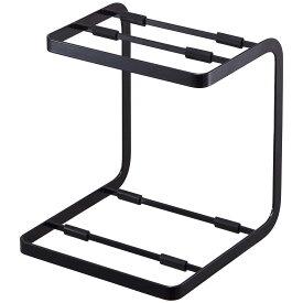 収納ラック YAMAZAKI TOWER 鍋スタンド2段 食器棚の中でも使えて便利です! 土鍋 鋳物鍋 省スペース スチールラック 山崎実業 タワー ブラック