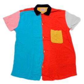 【LEVIS VINTAGE CLOTHING】(リーバイス ビンテージクロージング) ロケットボウリングシャツ (カラフル) 渋谷 バックドロップ 渋谷の老舗アメカジショップ the back drop