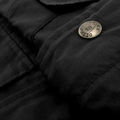 【SIERRADESIGNS】(シエラデザインズ)60/40SHORTPARKA/60/40ショートパーカー(ブラック/ブラック)