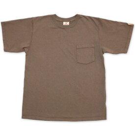 【GOOD WEAR】(グッドウェア) 7.2oz PKT TEE / 7.2オンス ポケット Tシャツ (グレージュ) 渋谷 バックドロップ 渋谷の老舗アメカジショップ the back drop アメカジ定番 ヘビーウェイト アメリカンコットン アメリカ製 MADE IN USA