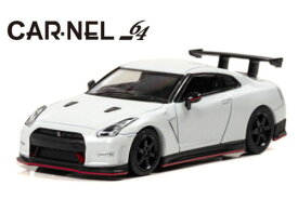 CAR・NEL 1/64 日産 GT-R NISMO N Attack Package (R35) 2015 Pearl White (CN640017) 通販 プレゼント モデルカー ミニカー 完成品 模型