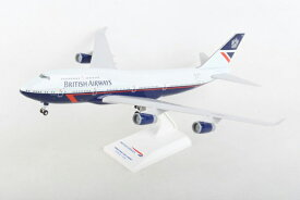 SKYMARKS 1/200 ブリティッシュエアウェイズ B747-400 LANDOR スタンド付き ギア付 (SKR1030) 飛行機 航空機 半完成品 模型 通販 プレゼント