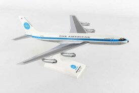SKYMARKS 1/150 パンアメリカン航空 B707 Jet Clipper Monsoon N415PA (SKR877) 通販 プレゼント 飛行機 航空機 半完成品 模型