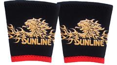 サンライン リストバンド獅子マークSUN-1101ブラックM