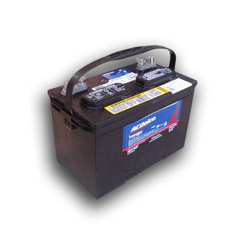 ACデルコ ボイジャー バッテリー M27MF 105A 【お買上金額に関わらず別途送料520円】
