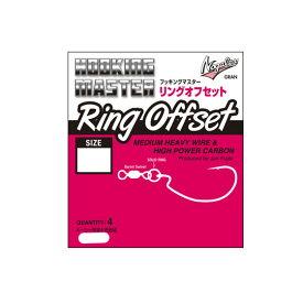 ノガレス フッキングマスター リングオフセット #3-1/0 Nogales Ring Offset