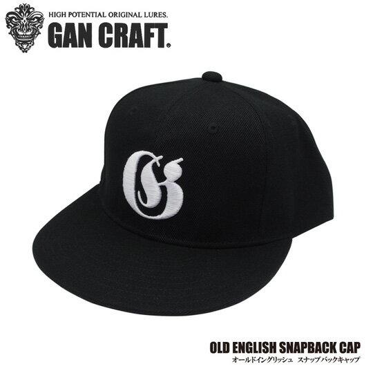 ガンクラフト オールドイングリッシュスナップバックキャップ GANCRAFT