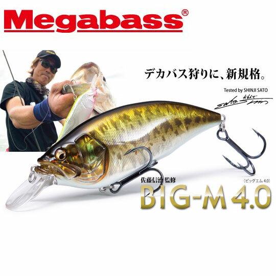 メガバス BIG-M 4.0 マグナムクランク Megabass