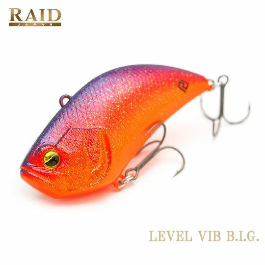 レイドジャパン レベルバイブビッグ RAID JAPAN LEVEL VIB BIG