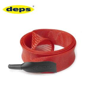 デプス ロッドチューブカバー スピニングモデル レッド Deps