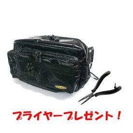 【プライヤープレゼント】 デプス ヒップバッグ #ターポリンブラック deps HIP BAG