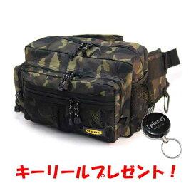【キーリールプレゼント】 デプス ヒップバッグ #カモ deps HIP BAG