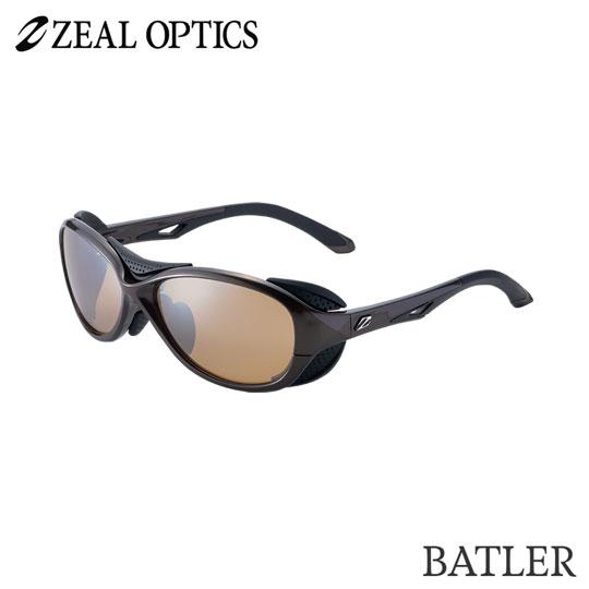 zeal optics(ジールオプティクス) 偏光グラス バトラー F-1722 #ラスターオレンジ シルバーミラー ZEAL BATLER