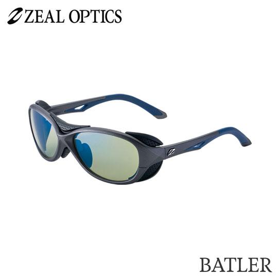 zeal optics(ジールオプティクス) 偏光グラス バトラー F-1724 #イーズグリーン ブルーミラー ZEAL BATLER