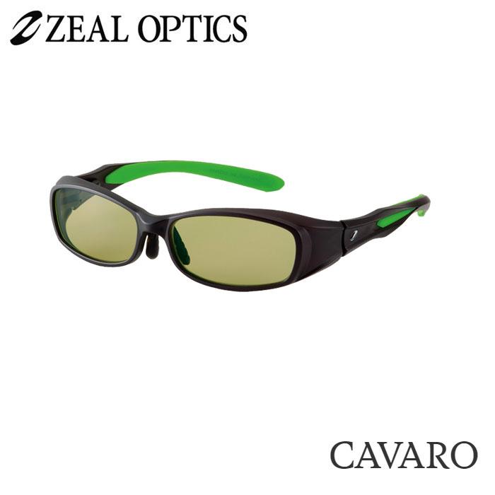 zeal optics(ジールオプティクス) 偏光グラス カヴァロ F-1202 #イーズグリーン ZEAL cavaro