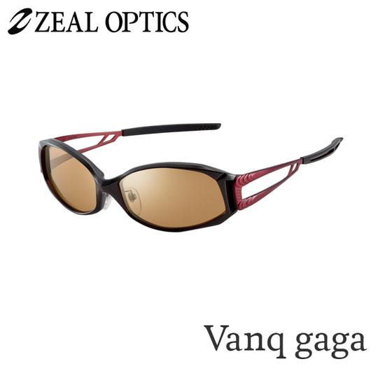 zeal optics(ジールオプティクス) 偏光グラス ヴァンクガガ F-1073 #ラスターオレンジ シルバーミラー ZEAL Vanq gaga
